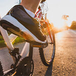 Bike riding and exercise