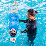 Swimming and teaching