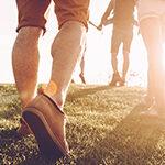 Walking and social gathering
